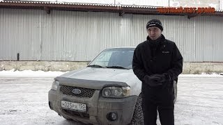 Честный тест драйв (обзор) Ford Escape 2004 год (б/у)