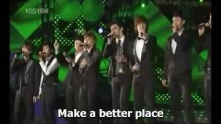 [090426] Open Concert - Heal the World - SJ [eng]