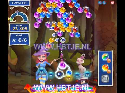 Bubble Witch Saga 2 level 111