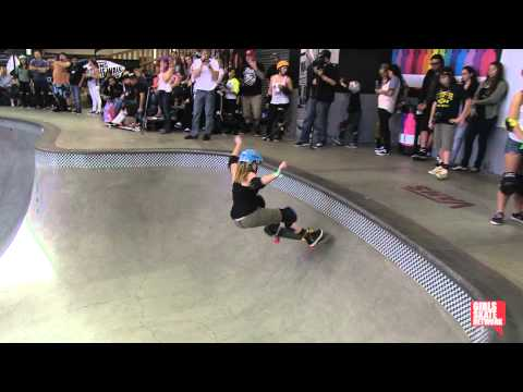 Hannah Chumley - Vans Girls Combi Pool Classic 2013