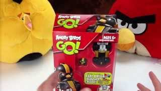 Angry Birds Go! Bomb's Race Kart Game Review