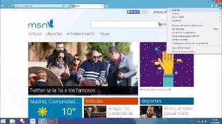 CAMBIAR PAGINA PREDETERMINADA INTERNET EXPLORER 11