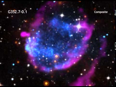Supernova Shock Wave Blows-Away Huge Clumps of Cosmic Clutter | Video