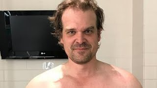 David Harbour's Intense Body Transformation To Become Hellboy