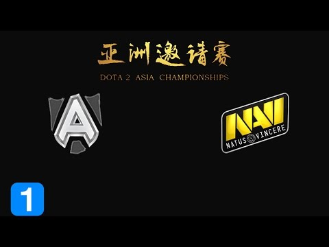 Must Watch Alliance vs Natus Vincere - Dota 2 Asia Championship 2015