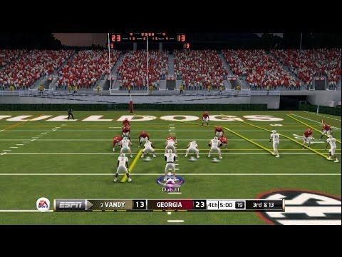 NCAA Football 2014: Dub Goes Down to Georgia