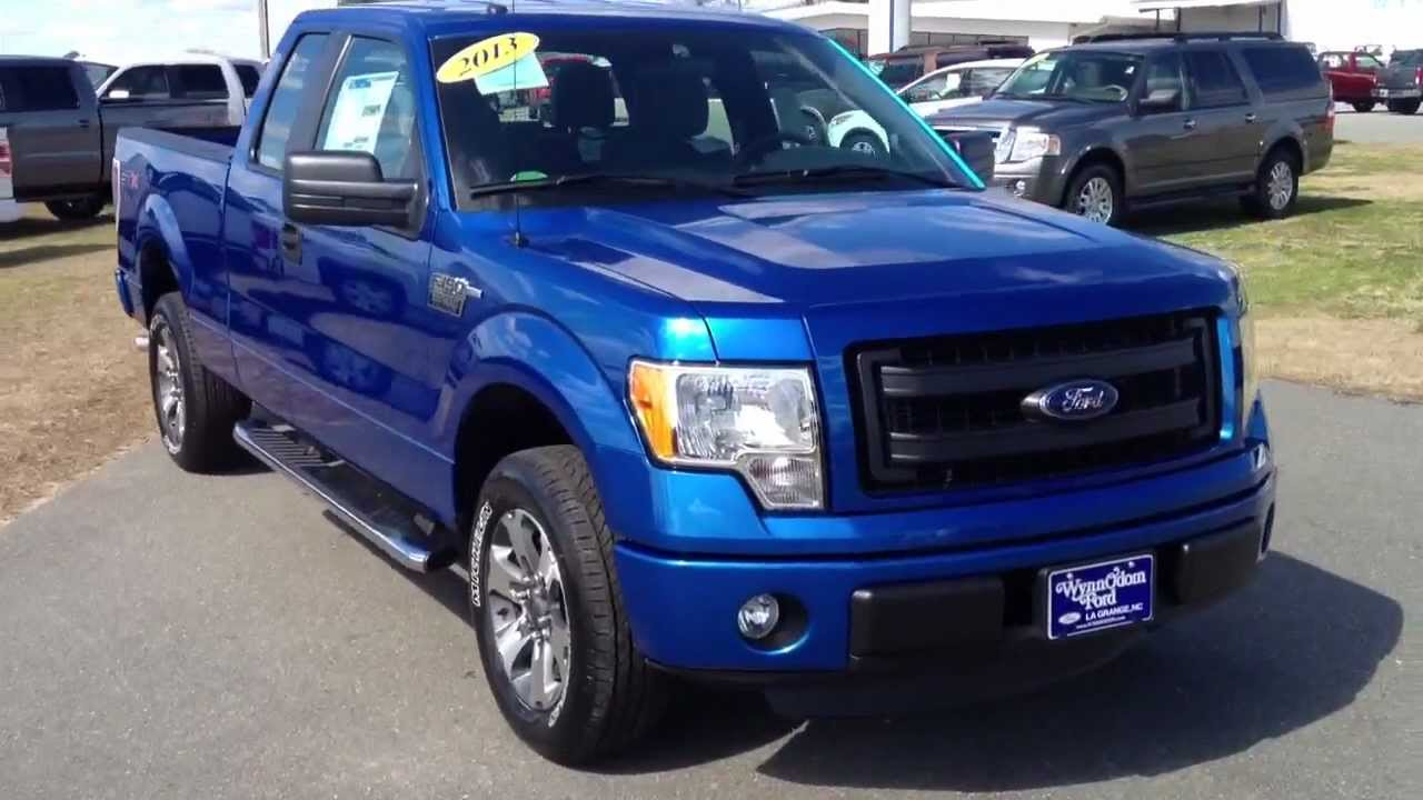 2013 ford f 150 super cab stx southeast edition blue flame youtube. Black Bedroom Furniture Sets. Home Design Ideas
