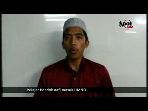 Pelajar Pondok nafi masuk UMNO