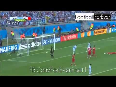 Lionel Messi Goal vs Iran 21.06.2014