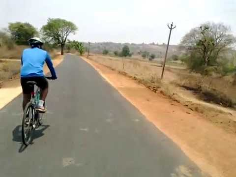 Cycling around Bangalore Country SIde -Week-End Cycling by Fitness Through Travel
