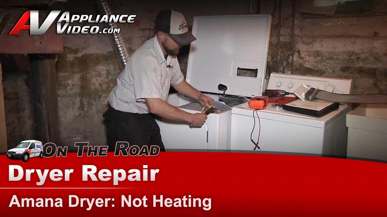 Dryer Repair  U0026 Diagnostic - Not Heating