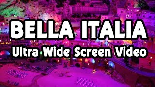 Modellbahn Bella Italia im Miniatur Wunderland Ultra Wide Screen Video