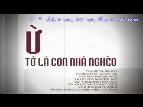 Con Nhà Nghèo - LEG [ HD 720p w \ Lyric]