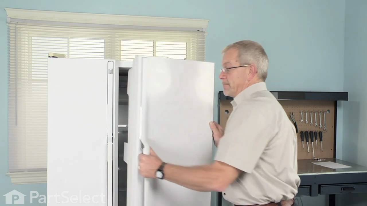 Refrigerator Repair Replacing The Door Closing Cam Ge