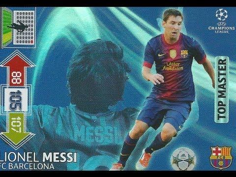 Karta Messi Top Master