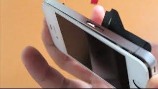 Cómo cambiar la pantalla de un iPhone 4