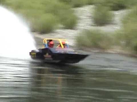 Ever seen a race boat drift?
