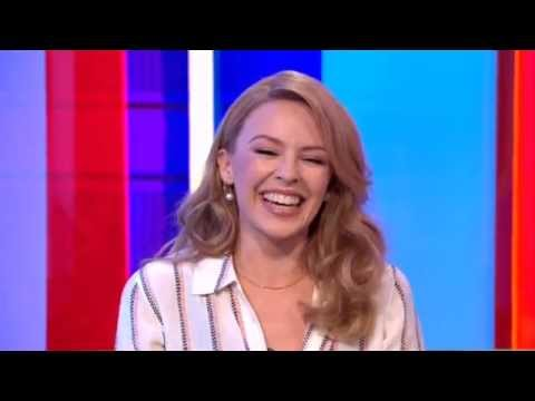Kylie Minogue BBC The One Show 2014