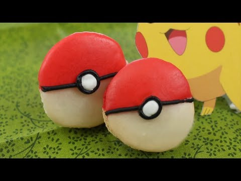 How to Make Pokemon X and Y Macarons!