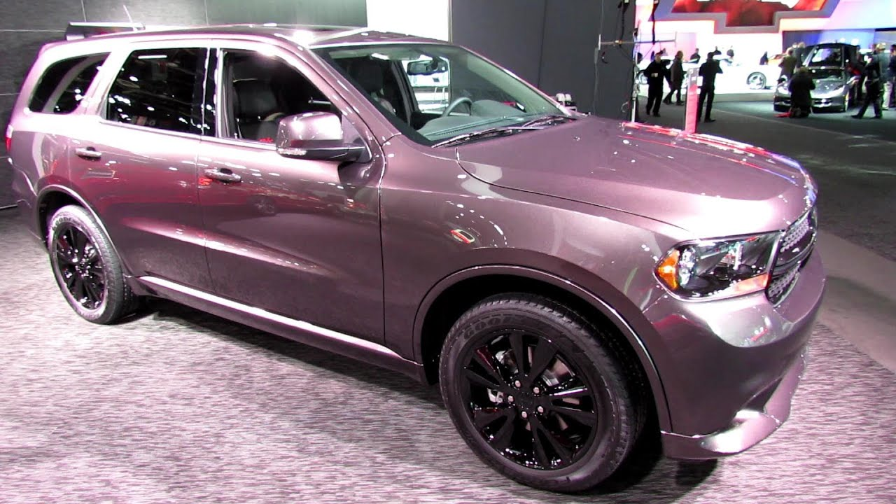 2013 dodge durango rt exterior and interior walkaround 2013 detroit auto show youtube. Black Bedroom Furniture Sets. Home Design Ideas