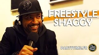 SHAGGY - Freestyle at PartyTime Radio Show