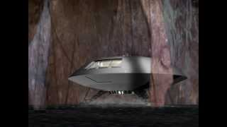 Lost In Space The Derelict CGI