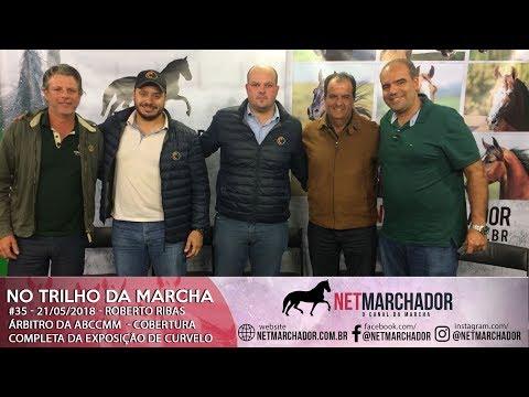#34 - NO TRILHO DA MARCHA - 21/05/2018 - Roberto Ribas Árbitro da ABCCMM - MANGALARGA MARCHADOR