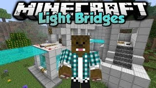 Minecraft - Mod Showcase - Light Bridges !
