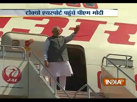 PM Narendra Modi Concludes Successful Japan Visit, Leaves For Home - India TV