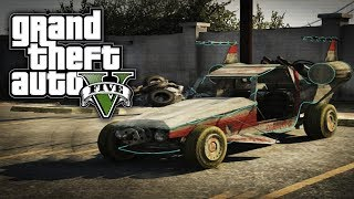 GTA 5 Online: SECRET Alien Car Space Docker (GTA V