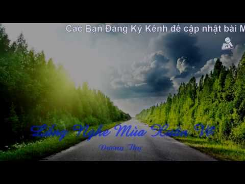 Karaoke Lắng Nghe Mùa Xuân Về - Bằng Kiều [ Beat Chuẩn ]