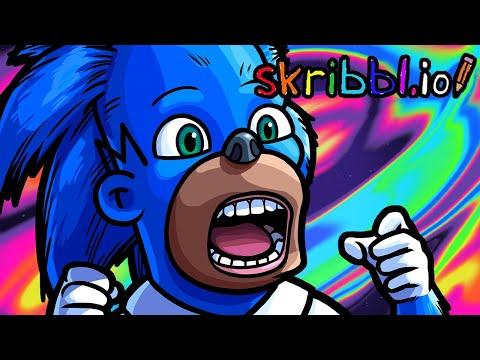 Skribbl.io Funny Moments - These Sonics Look SICK!