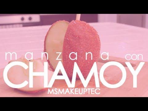 Postres | Manzana con Chamoy... #MsMakeupTec
