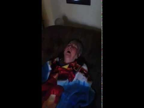My grandma gets spied on while sleeping