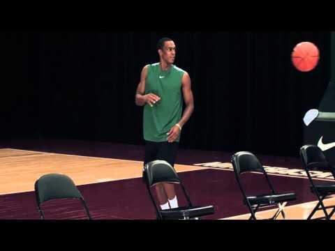 Nike Basketball Pro Training, Rajon Rondo, Passing  Thread Passing Treino de passe