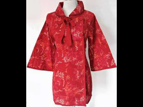 BATIK BAJU MUSLIM | BATIK MODERN | DRESS BATIK | TERRY 03