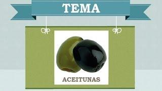 Nutrientes y propiedades de las aceitunas
