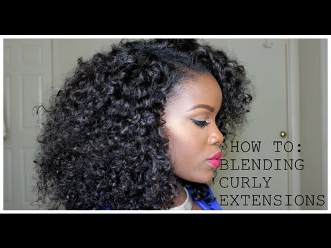 Blending Natural Hair With Weave No Heat 106