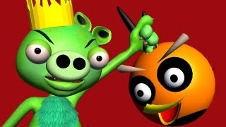 PIGGY-MONSTERS REVENGE An Angry Birds Parody ♫ 3D