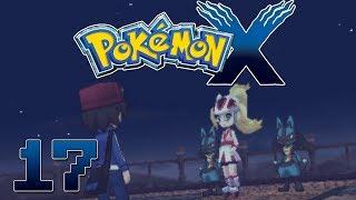 Let's Play Pokemon X Part 17 Mega Lucario & Mega Ring