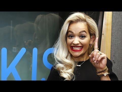 Rita Ora at KISS FM (UK) talks Calvin Harris & Conchita!