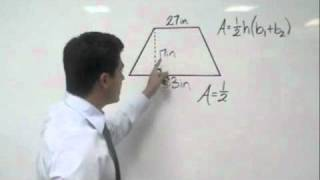 Algebra Area Of A Trapezoid