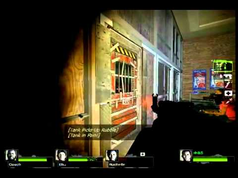Left 4 Dead 2 Tank Spawns Before Exiting SafeRoom
