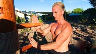Wing Chun Wooden Dummy Training For Iron Bones Kung Fu