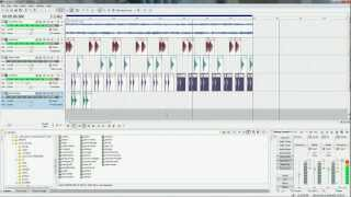HOW TO MAKE A DRUM LINE WITH SONY ACID PRO 7.0 USING WINDOW 7 BY DENNIS