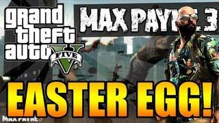 """GTA 5 """"Secret"""" Max Payne 3 EASTER EGG! + How To Make"""