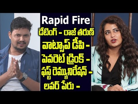 Avika Gor Funny Answers in Rapid Fire | Avika Gor about her boy friend | Friday poster