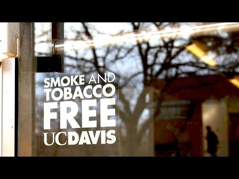 Tobacco and Smoke Free, New UC Policy