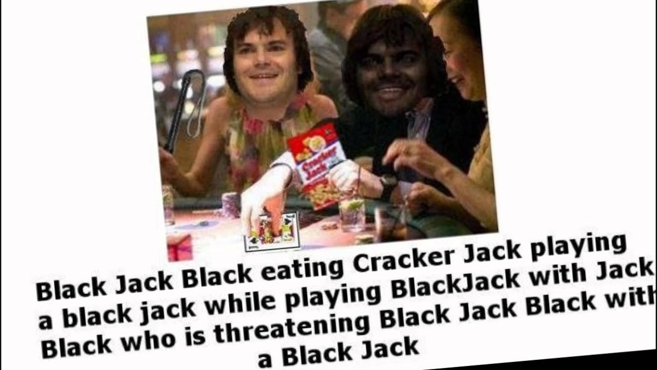 jack black playing black jack