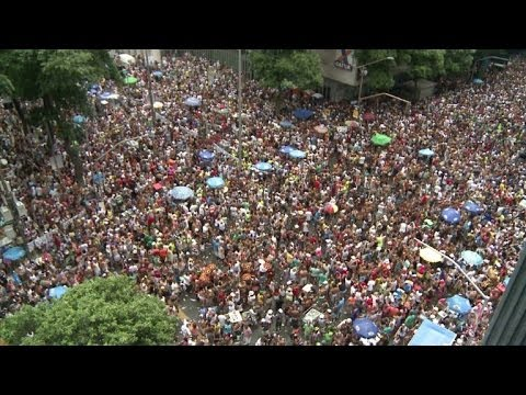 Bola Preta sacode centro do Rio